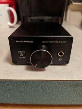 Monoprice Desktop Headphone Amplifier DAC