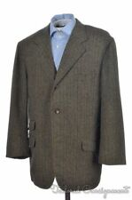 RUBINACCI Woven Tweed Wool Striped Mens Blazer Sport Coat Jacket - EU 56 / US 46