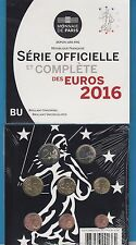 SERIE BRILLANT UNIVERSEL   Euros Monnaie de Paris 2016 BU Nouveauté disponible