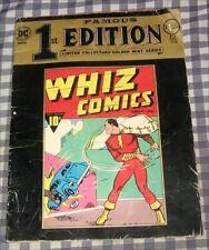 "SHAZAM! ""Whiz Comics"",February,1940 Famous First Edition,1974 Captain Marvel,DC"