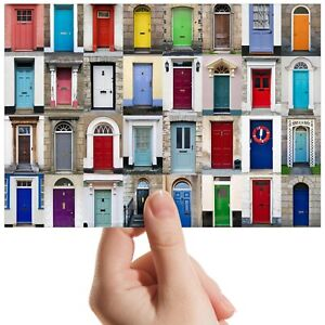 """Door Architecture New Home Small Photograph 6"""" x 4"""" Art Print Photo Gift #14607"""