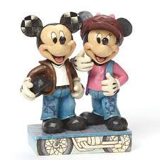 Jim Shore Disney Mickey and Minnie Mouse Biking Sweethearts 4043652
