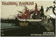 Smashing Pumpkins POSTER Live in Pittsburgh, Pa 1999 Billy Corgan Big Muff King!