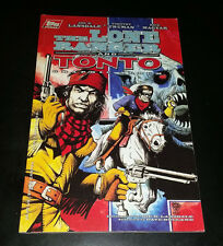 The Lone Ranger and Tonto Graphic Album by Joe R Lansdale - Topps Comics