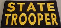 TROOPER Patch Morale Tactical 8 X 4 Emblem With VELCRO® Brand Fastener #1