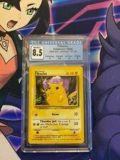 1999 Pokemon Base Set Unlimited Pikachu 58/102 CGC 8.5 NM/Mint+ (PSA 9)