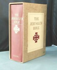 New listing Vintage The Jerusalem Bible with Slipcover 1966 - Doubleday - Nice Condition