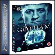 Gotham Season 3 Series Three Third (benjamin Mckenzie) DVD Region 4