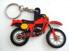 Twin Shock SWM Maico Style Rubber Key ring Motocross Enduro Moto X NEW MX