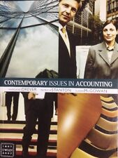 CONTEMPORARY ISSUES IN ACCOUNTING - Margaret Drever, Patricia Stanton, S McGowan