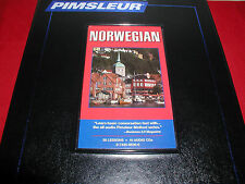 Pimsleur Norwegian I (Level 1) comprehensive course set (16 audio cds)