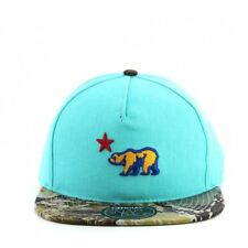 Stay Official - Official Turquoise And Camo California Republic Snapback