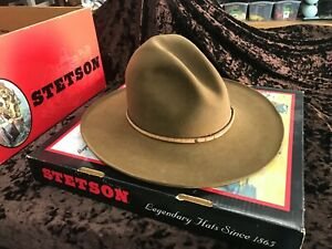 Stetson Western Buffalo 4XXXX Felt Size 7-3/4