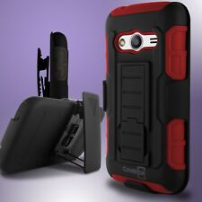 Holster Combo Belt Clip Hybrid Phone Cover Case for Samsung Galaxy Ace NXT