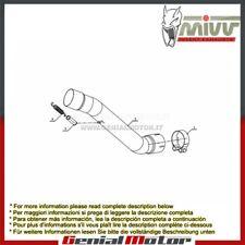 Tubo Elimina Kat MIVV Decatalizzatore Acciaio inox Kawasaki Zx-10 R 2008 > 2010