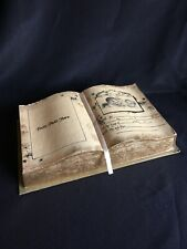 Vintage Faux Baby Open Book Keepsake Box Treasure Gift Welcome Little Stranger