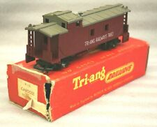 Vintage Triang OO Gauge R115 Caboose, Transcontinental Series, Boxed #1