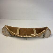 """Birch Bark Canoe 17x5x5"""""""