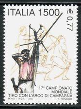 ITALIA  DEPORTES 2000 2440 TIRO AL ARCO 1v.