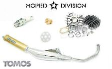 Tomos A55 70cc Airsal Cylinder & Biturbo Exhaust Package Kit LX, Sprint, ST