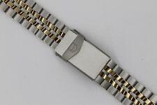 NEW Tag Heuer 21mm 607/410 Gold Band Bracelet Mens Link 1500 Jumbo 925.206
