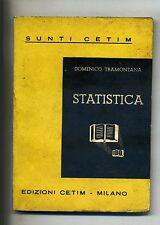 Domenico Tramontana # STATISTICA # Cetim 1955