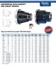 Royal Accu-Length CNC Lathe 5C Collet Chuck #42332 Spindle A2-6 USA