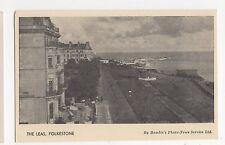 Folkestone, The Leas, Hamlin Postcard, A702
