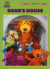 Big Blue House coloring book RARE UNUSED