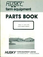 Husky Farm Equipment Parts Book D 15000 Litre Liquid Manure Spreader Ag 20