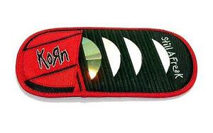 Korn Auto Visor Embroidered Black Cd Compact Disc Holder Case New Storage