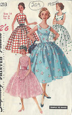 simplicity Sewing Pattern 1213 Girls Dress & Shrug 8-16