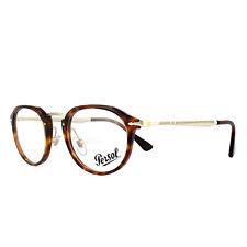 a07188ca720cf Persol Glasses Frames PO3168V 24 Havana 48mm Mens Womens