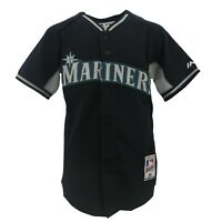 Seattle Mariners Authentic MLB Majestic Cool Base Kids Youth Size Jersey New
