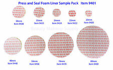 Press and Seal Foam Liners Tamper Leak Proof Container Sealer Assortment   9401