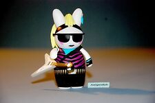 Band Camp 3000 Collectible Vinyl Labbits KidRobot Rikky Panther 1/24