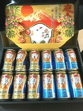 Premium Malts New Year Zodiac boar design empty can 350 ml×12 Box set japan