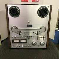 """AKAI GX-635D VINTAGE 10"""" REEL TO REEL - SERVICED - CLEANED - EXCELLENT CONDITION"""