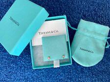 Tiffany & Co Gold Elsa Peretti® 18k Gold Diamonds by the Yard® Earrings (.16)