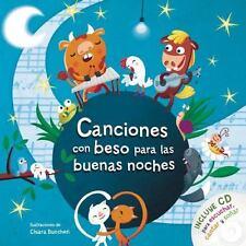 Canciones con Beso para Las Buenas Noches con CD by Varios (2015, Hardcover /...
