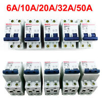 6A/10A/20A/32A/50A 2P DC 400V Miniature Circuit Breaker 2 Pole Air Switch DC MCB