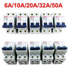 6A/10A/20A/32A/50A 2P DC 400V Miniature Circuit Breaker 2 Pole Air Switch DC MCB