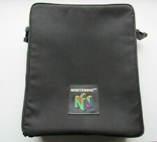 Official Nintendo 64 OEM Console Video Game Travel Bag Messenger Tote Storage