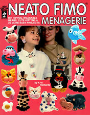 Neato Fimo Menagerie ~ 20 Fimo Clay Projects ~ Craft Booklet ~ HOTP 255
