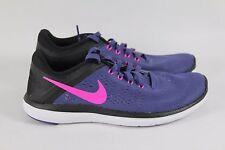 Women's Nike Flex 2016 Run Pink Blue Running Shoes 830751 500 Size 6