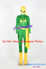 Ironfist Cosplay Costume include headwear mask and boots covers