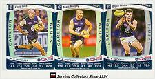 2011 AFL Teamcoach Trading Cards Prize Card Team Set Carlton (3)