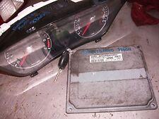 Fusion Zetec Duratec AUTO ECU 6s61 12a650 le con CHIAVE con Chip 88609 MIGLIA