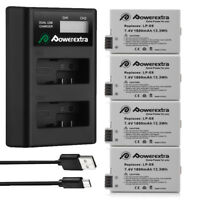 LP-E8 Battery For Canon Rebel T3i T2i T4i T5i EOS 700D 550D w/ LCD Dual Charger