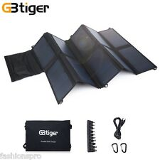 GBtiger 65W Dual Outputs Sunpower Solar Panel Battery Charger Emergency Bag